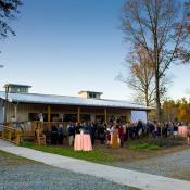 Reception begins-Grounds at entry- Main Event Barn