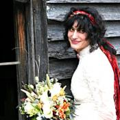 A Bride at the old Spring House