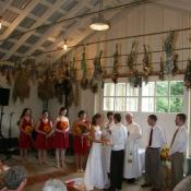 A beautiful and meaningful dairy barn ceremony