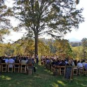 Another beautiful fall wedding