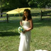 "The ""parasol"" bride"
