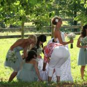 Handy bridesmaids